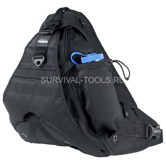 Рюкзак maura black/od green - dupont poly cordura кожаный рюкзак б/у