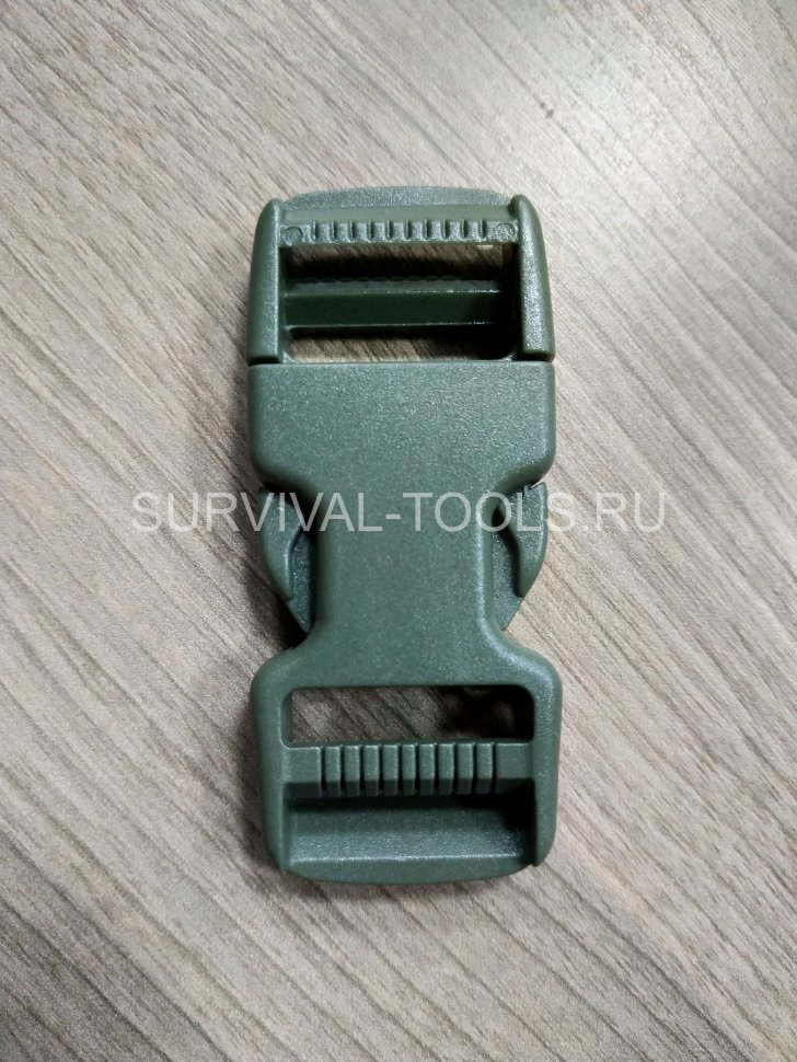 Фастекс Duraflex 25mm Dual Adjust Mojave Side Squeeze Buckle, олива