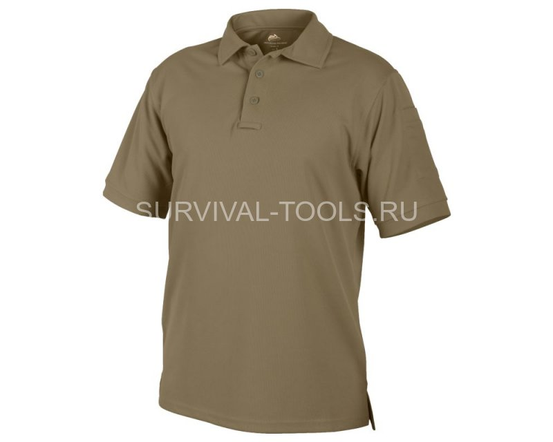 купить coolmax Рубашка футболка поло Helikon URBAN TACTICAL LINE® Polo Shirt coyote койот
