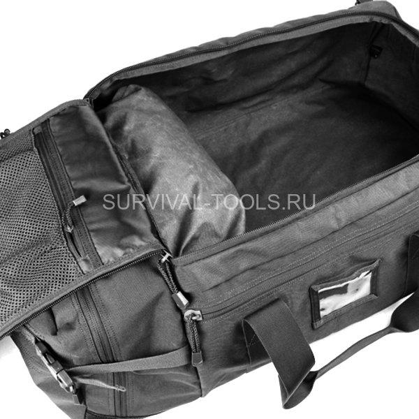 dabc27a171b4 универсальная тактическая купить Сумка-рюкзак Condor Colossus Duffle Bag  черная (Black) Инструменты выживания