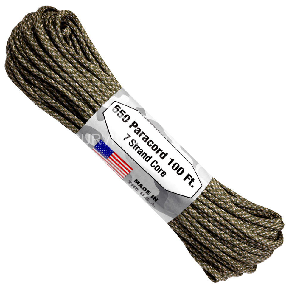 Паракорд ATWood Rope Paracord 550 type III Digital ACU 30м, США