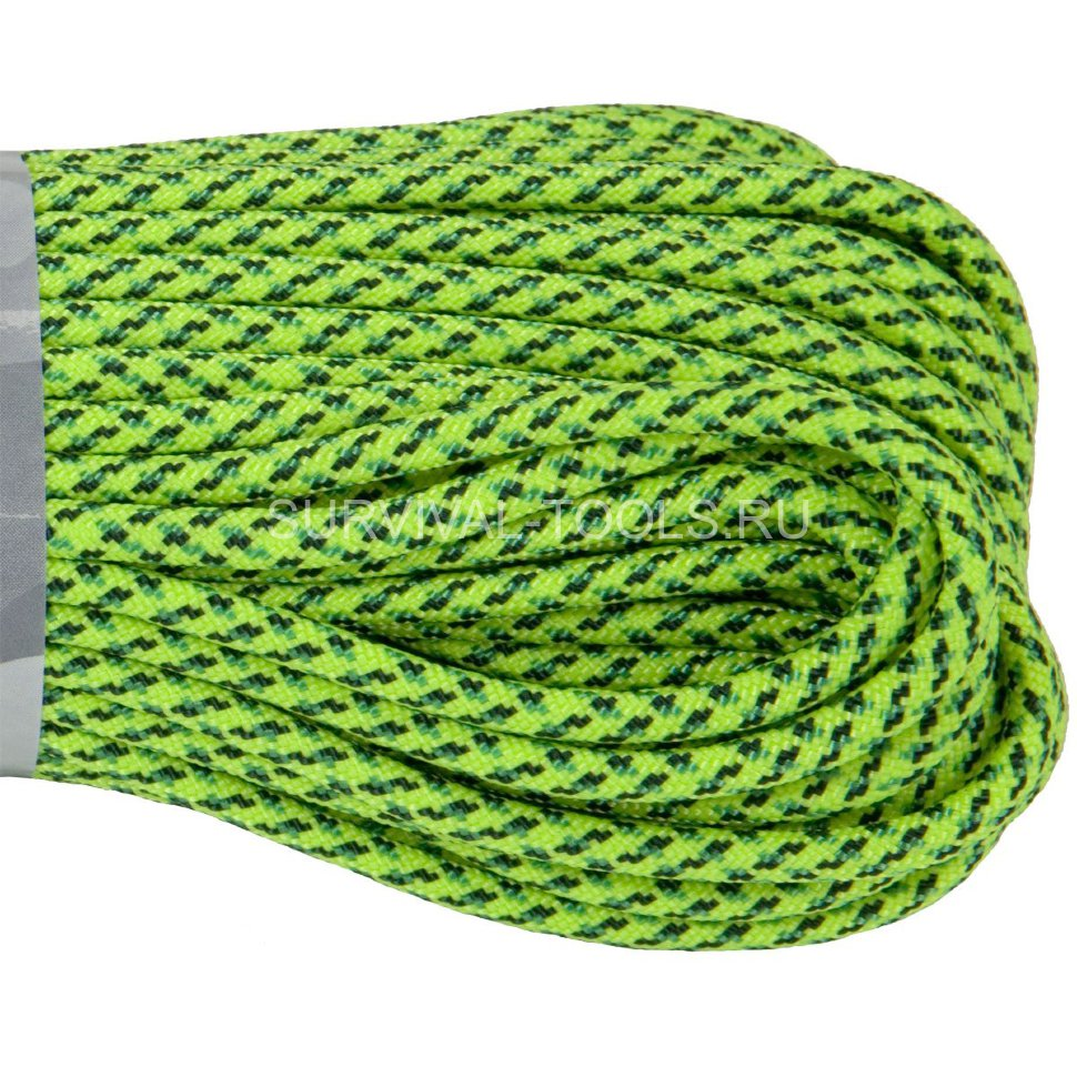 Паракорд ATWood Rope Paracord 550 type III Green Spec 30м, США