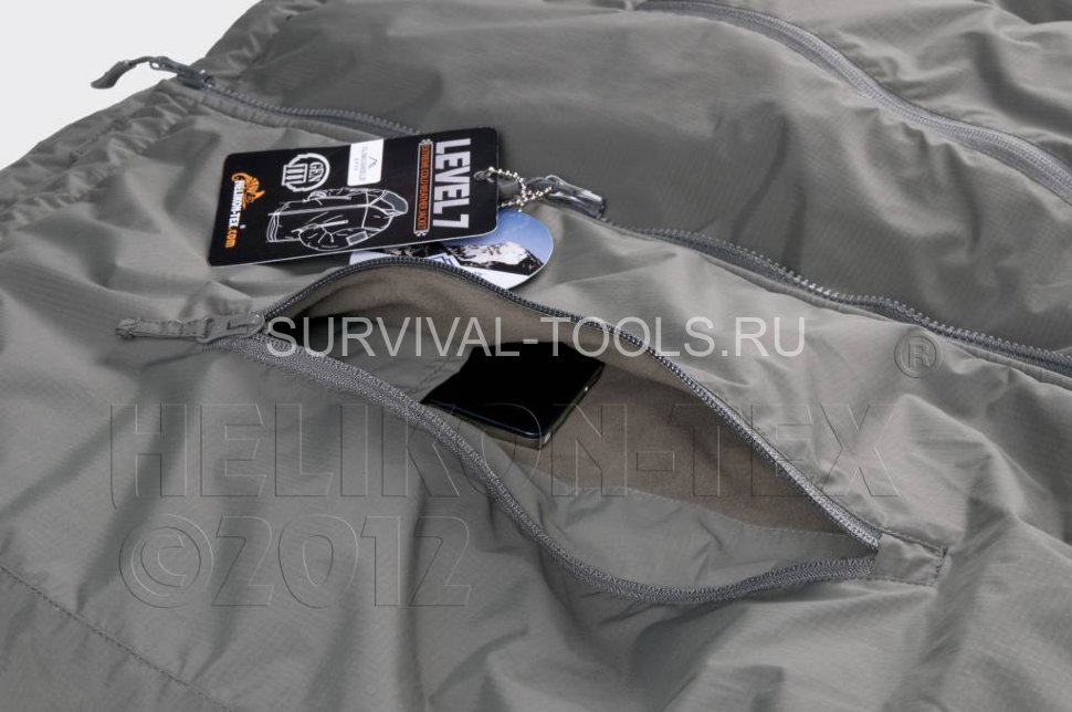 Куртка зимняя HELIKON LEVEL 7 LIGHTWEIGHT WINTER JACKET, черная (Black)